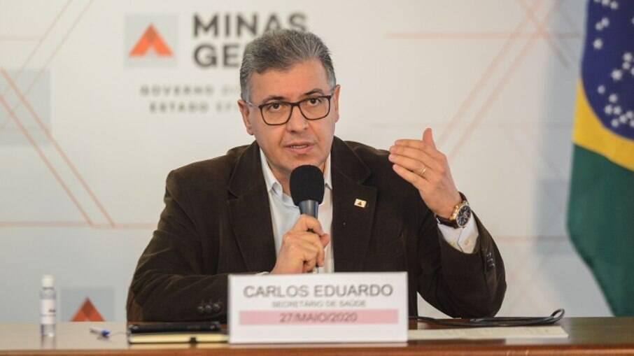 Carlos Eduardo Amaral, secretário de Saúde de Minas Gerais