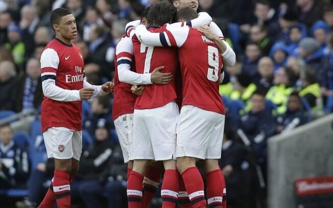 O Arsenal aparece em 10º lugar na lista da  Forbes, valendo R$ 2,95 bilhões