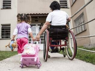 Para Tatiana, sobre rodas ou não, o essencial para qualquer mãe é se adaptar às situações e tirar o melhor proveito delas