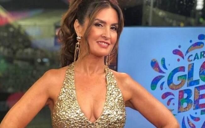 Fátima Bernardes causou sensação na transmissão da Globo