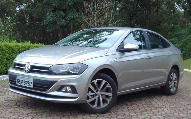Volkswagen Virtus Comfortline: versão intermediária já tem um pacote interessante de equipamentos de série
