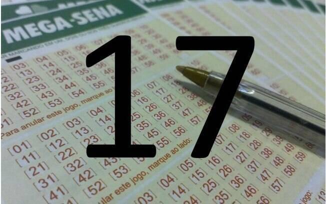 O 17 foi sorteado 181 vezes