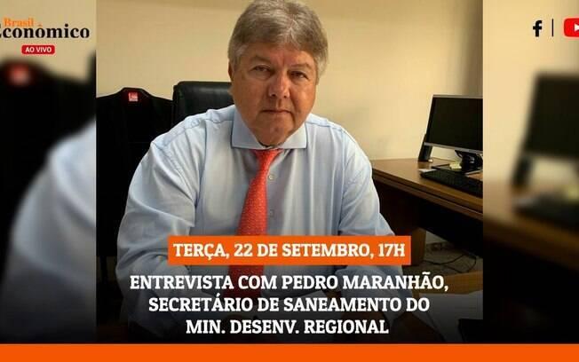 Pedro Maranhão é o entrevistado desta terça