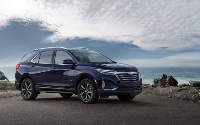 Chevrolet Equinox 2021: SUV médio passou por mudanças há um ano e deverá chegar ao Brasil apenas no segundo semestre de 2021