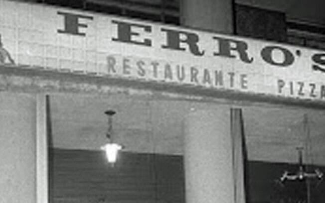 O Ferro's Bar ficava na avenida 9 de Julho, no centro da capital paulista