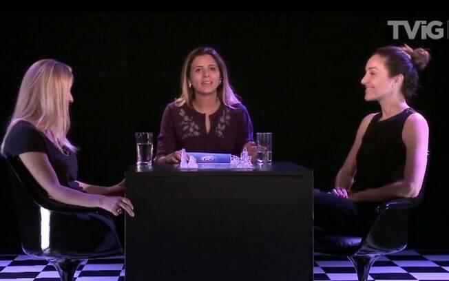 Desafio iG: Patrícia de Sabrit e Cynthia Benini discutem sobre maternidade e carreira