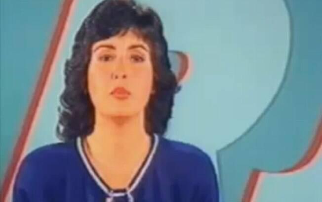Fátima Bernardes na apresentação do RJTV