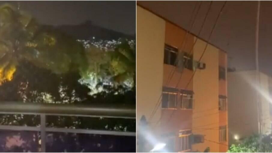 Moradores relatam tiroteio no Morro do Juramento, no Rio de Janeiro