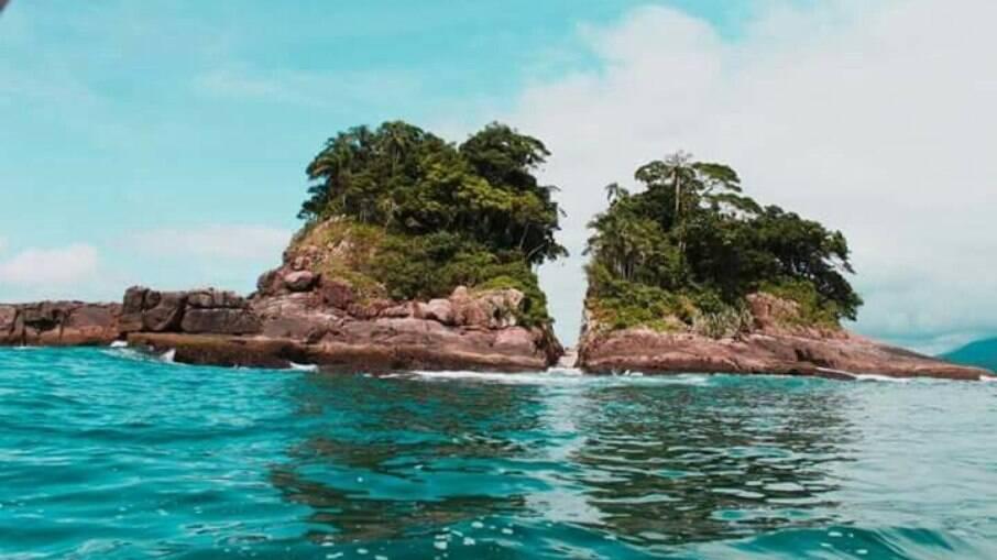 Veja 5 ilhas localizadas em Ubatuba para visitar; na foto, Ilha da Selinha