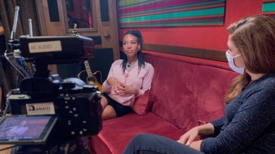 Karol Conká dá entrevista exclusiva ao 'Fantástico'