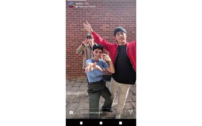 cenas instagram