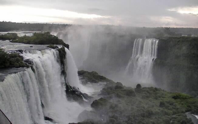 Cataratas do Iguaçu é um dos pontos turísticos mais visitados