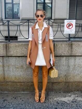 O casaco-colete é uma forte tendência para este outono/inverno