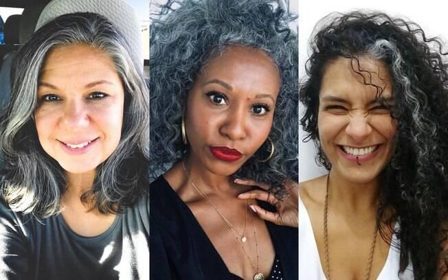 Você pode ir ajustando a cor ou deixar o cabelo ficar grisalho aos poucos