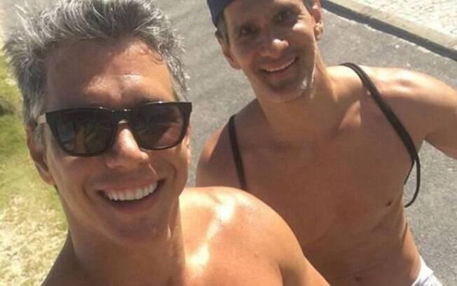 Marcio Garcia e Marcello Machado