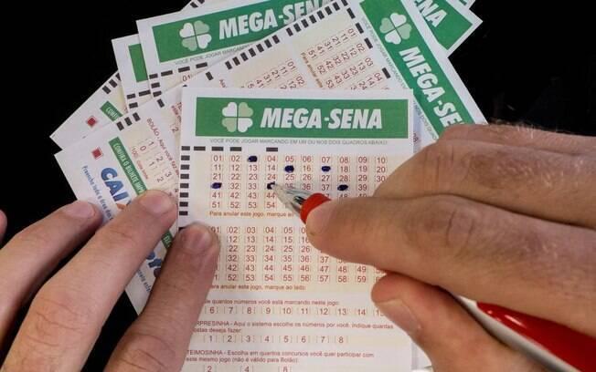 Apostas da Mega-Sena podem ser feitas em qualquer uma das 13 mil casas lotéricas espalhadas pelo Brasil