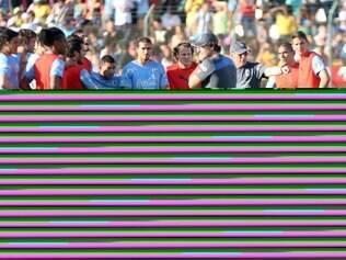 Espotes - Sete Lagoas, Mg. Copa do Mundo. Selecao do Uruguai treina em Sete Lagoas na Arena do Jacare. Fotos: Leo Fontes / O Tempo - 10.6.14