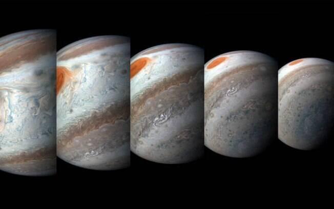 Imagens de Júpiter captadas pela Nasa revelam novos detalhes do planeta