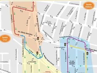 Principal mudança será feita na rotatória do cruzamento das avenidas Olinto Meireles e Waldir Soeiro Emrich
