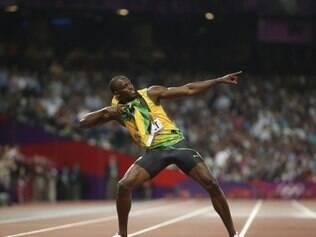Bolt é o atual recordista das provas de 100m e 200m do atletismo
