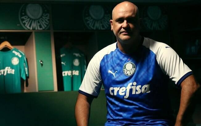 Palmeiras usará camisa azul com mangas brancas em homenagem ao título de 1999