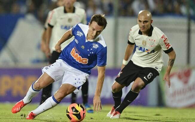 Dagoberto marcou o gol da vitória do Cruzeiro
