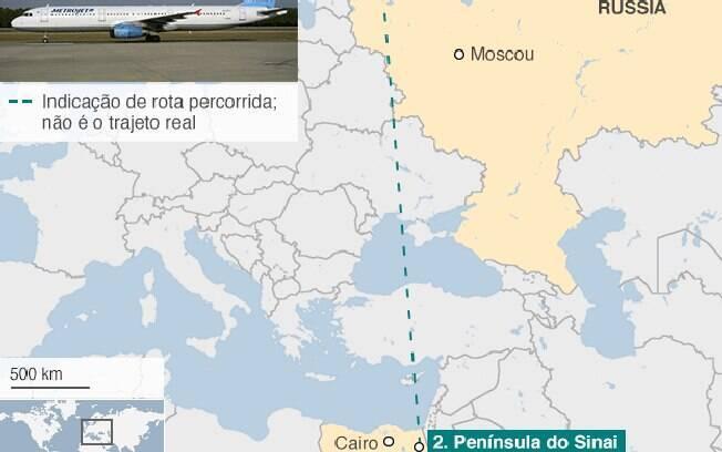 Todas as 224 pessoas a bordo do avião morreram na tragédia