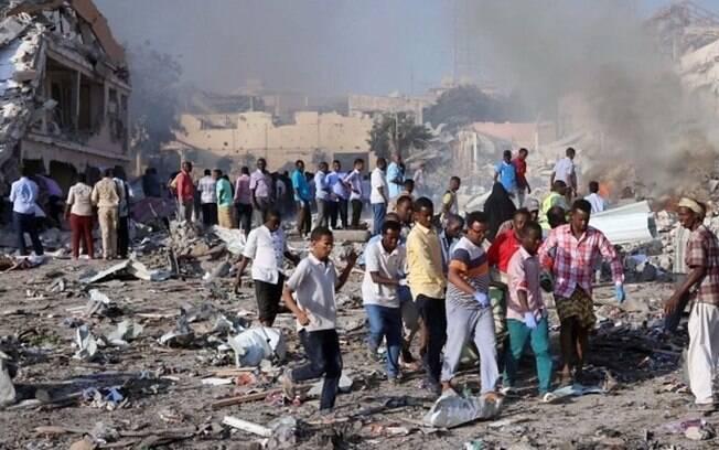 Protestos acontecem contra grupo terrorista e demonstra fragilidade do presidente da Somália