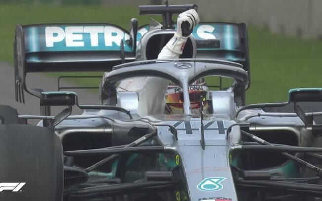 Hamilton vence GP do México, mas ainda não é campeão da temporada
