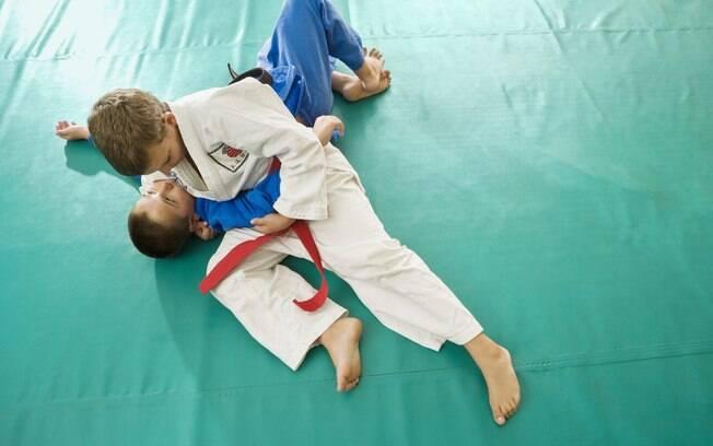Artes marciais são indicadas para crianças com mais de oito anos