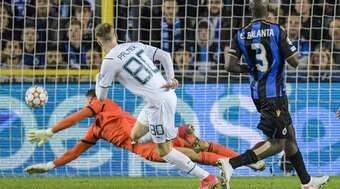 Manchester City goleia Club Brugge por 5 a 1 e se reabilita