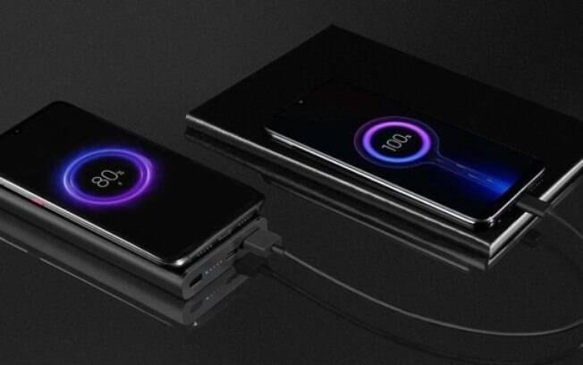 Novo power bank da Xiaomi tem suporte a carregamento sem fio
