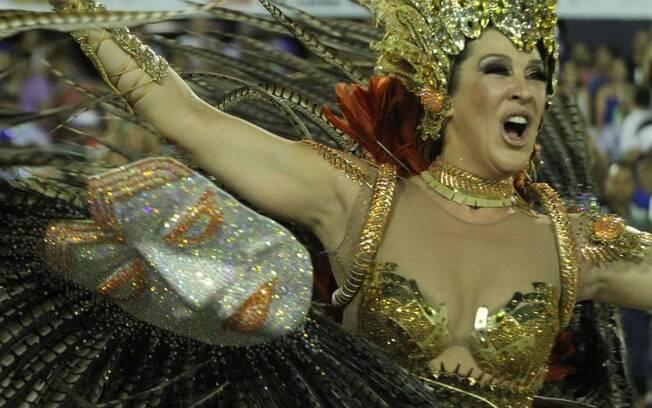 Mais Claudia Raia na Beija-Flor. Foto: Anderson Borde/AgNews
