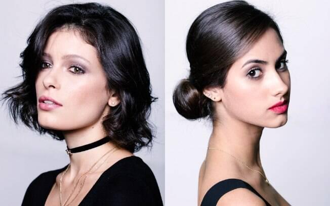 Exemplos de maquiagem e penteados que você pedir pelo Singu