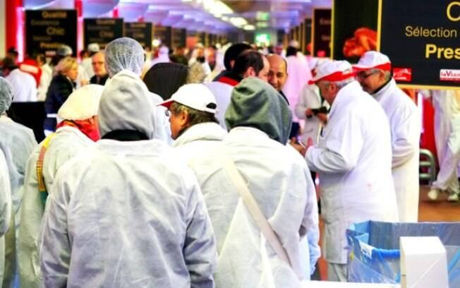 Mercado Internacional Rungis teve a energia cortada durante protesto em Paris