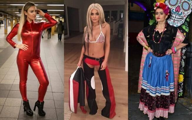 Ideias de fantasias para o Hawlloeen: ícones dos anos 90, como Britney e Christina, além de Frida Khalo estão populares