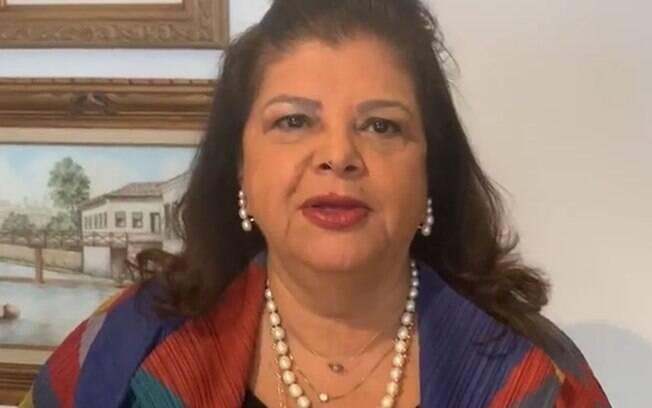 A empresária Luiza Helena Trajano é entrevistada no Roda Viva