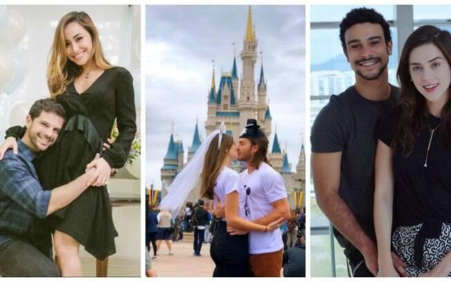 Casamentos em 2018! Sabrina Sato e Duda Nagle, Camila Queiroz e Klebber Toledo e Sophia Abrahão e Sergio Malheiros são alguns dos famosos que vão casar