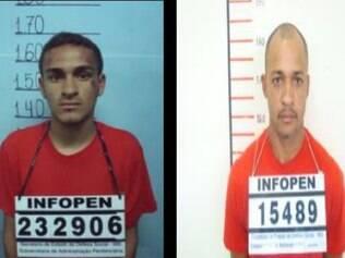 Douglas e Everaldo, presos por roubos em séries a condomínios residencias nos bairros Gutierrez e Prado