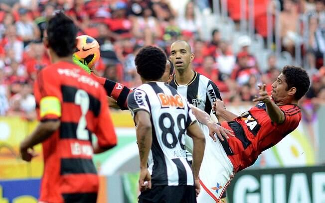 Flamengo derrotou o Atlético-MG em Brasília