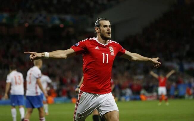 Gareth Bale, do Real Madrid e de País de Gales, seria um dos 11 dessa seleção