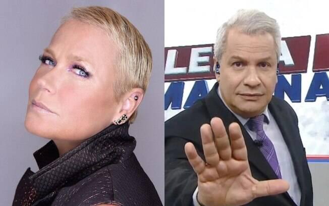 Xuxa afirmou que vai processar o apresentador após debochar de caso de zoofilia