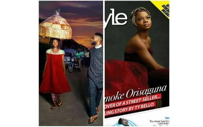 Olajumoke Orisaguna apareceu na foto do rapper Tinie Tempah sem querer e ficou famosa