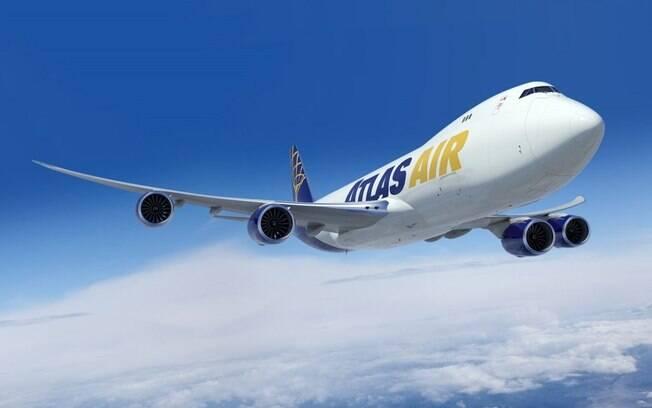 Atlas Air adquire quatro cargueiros Boeing 747-8