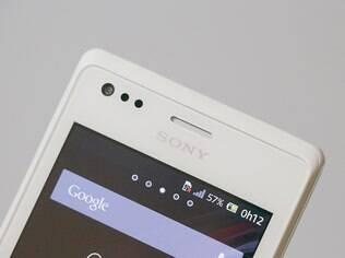 Xperia M Dual tem tela de 4 polegadas