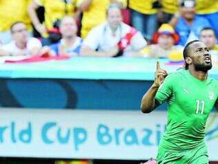 Como aconteceu nos dois jogos anteriores, Drogba, principal jogador de Costa do Marfim, deve começar no  banco de reservas
