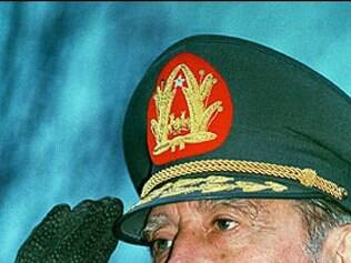 General assumiu o poder no país em 1973, após golpe de estado que derrubou o governo do presidente Salvador Allende