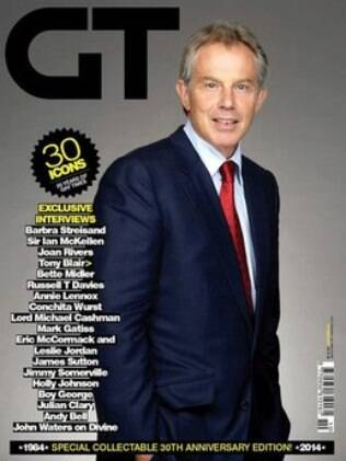 Tony Blair na capa da revista
