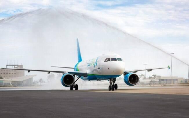 Nova companhia norte-americana recebe seu primeiro Airbus A320