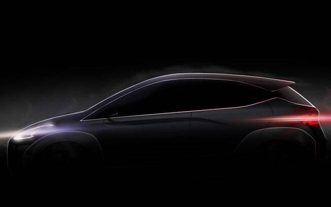 Hyundai Saga EV antecipa até mesmo as linhas da próxima geração do HB20 durante o Salão do Automóvel de 2018